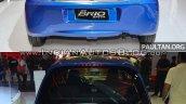 2016 Honda Brio (facelift) vs outgoing Honda Brio rear Old vs New