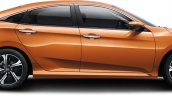 2016 Honda Civic China-spec side profile
