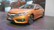2016 Honda Civic at 2016 Beijing Motor Show front three quarters left side