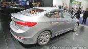 2016 Hyundai Elantra at Auto China 2016 rear three quarters right side