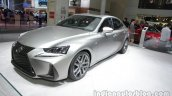 2016 Lexus IS 200t (facelift) at Auto China 2016 front three quarters left side