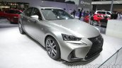 2016 Lexus IS 200t (facelift) at Auto China 2016 front three quarters
