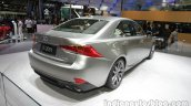 2016 Lexus IS 200t (facelift) at Auto China 2016 rear three quarters right side