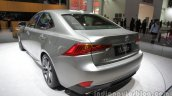 2016 Lexus IS 200t (facelift) at Auto China 2016 rear three quarters