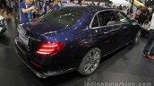 2016 Mercedes E Class L rear quarter at Auto China 2016