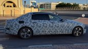 2016 Mercedes E-Class long-wheelbase side profile spy shot
