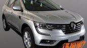 2016 Renault Koleos undisguised spy shot front three quarters
