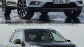 2016 Renault Koleos vs. 2014 Renault Koleos exterior
