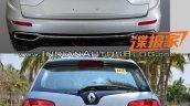 2016 Renault Koleos vs. 2014 Renault Koleos rear