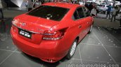 2016 Toyota Vios (facelift)r rear three quarter at the Auto China 2016