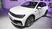 2016 VW Tiguan Sport R-Line at Auto China 2016 front three quarters left side