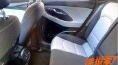 2017 Hyundai i30 interior rear seats