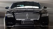2017 Lincoln Continental front Black spied