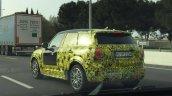 2017 MINI Countryman spy shot rear three quarters