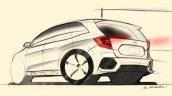 2018 Honda CR-V sketch