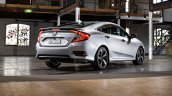 AU-spec 2016 Honda Civic rear three quarters
