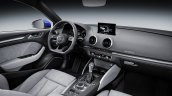 Audi A3 Sedan facelift dashboard press shots