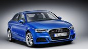 Audi A3 Sedan facelift press shots