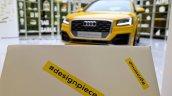 Audi Q2 untaggable at Audi City Lab Milan