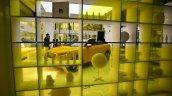 Audi Q2 yellow at Audi City Lab Milan