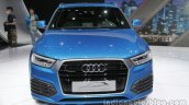 Audi Q3 connected mobility concept front at the Auto China 2016