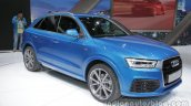 Audi Q3 connected mobility concept front three quarter at the Auto China 2016
