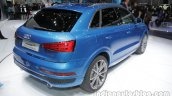 Audi Q3 connected mobility concept rear three quarter at the Auto China 2016