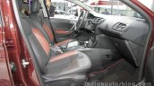 Citroen C3-XR front seats