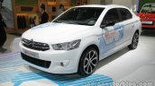 Citroen E-Elysee at Auto China 2016 front three quarters left side