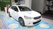 Citroen E-Elysee at Auto China 2016 front three quarters