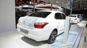 Citroen E-Elysee at Auto China 2016 rear three quarters