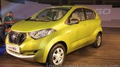 Datsun redi-GO front three quarter unveiled