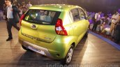 Datsun redi-GO rear quarter green unveiled