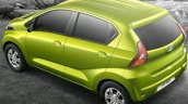 Datsun redi-GO rear unveiled press image