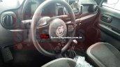 Fiat Mobi interior spy shot