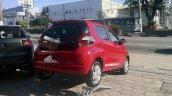 Fiat Mobi rear three quarters
