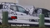 2017 Ford EcoSport (facelift) test mule Brazil