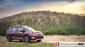 Honda BR-V front quarter India spec pre-launch pics
