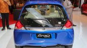 Honda Brio facelift blue rear unveiled at IIMS 2016