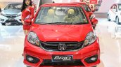 Honda Brio facelift front unveiled at IIMS 2016