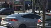 Hyundai Elantra Sport spy shot