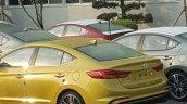 Hyundai Elantra Sport undisguised spy shot