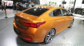 Hyundai Verna Concept rear at the Auto China 2016 Live