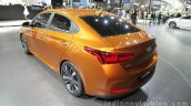 Hyundai Verna Concept rear quarter at the Auto China 2016 Live