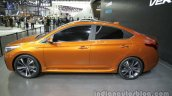 Hyundai Verna Concept side at the Auto China 2016 Live