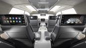 Lincoln Navigator Concept seat entertainment system