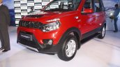 Mahindra Nuvosport front quarter launched