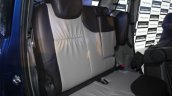 Mahindra Nuvosport rear seat launched