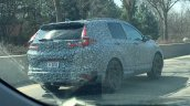 Next-gen Honda CR-V rear three quarters spy shot