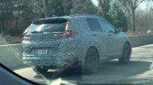 Next-gen Honda CR-V rear three quarters spy shot
